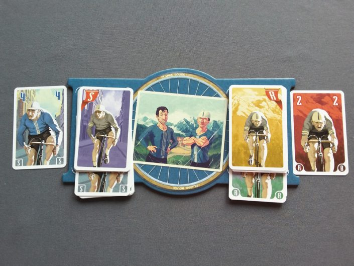 Planszetka z kartami